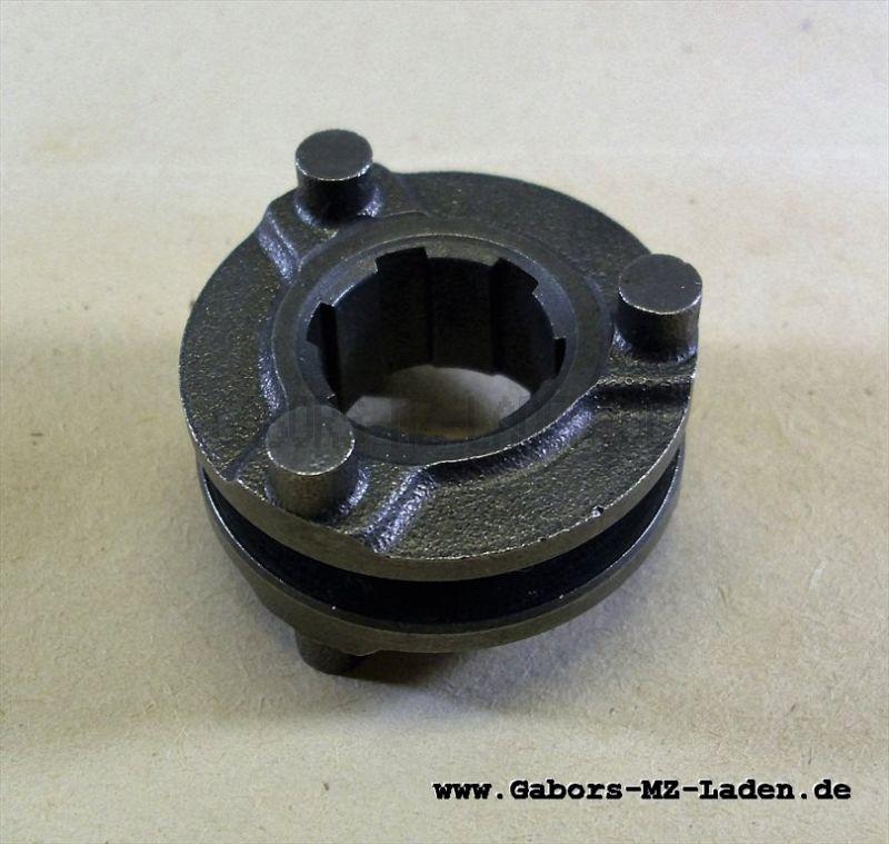 Schaltklaue SR2, KR50, SR4-1, SR2E für Sömtron-Rheinmetall-Motor, Höhe ca. 25mm
