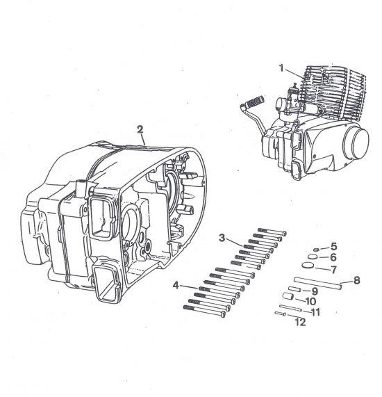 Ersatzmotor, Ersatzgehäuse