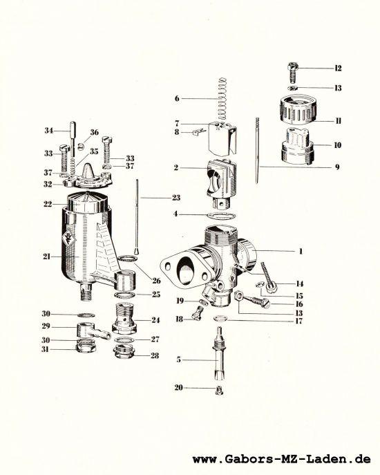 Vergaser N22-2
