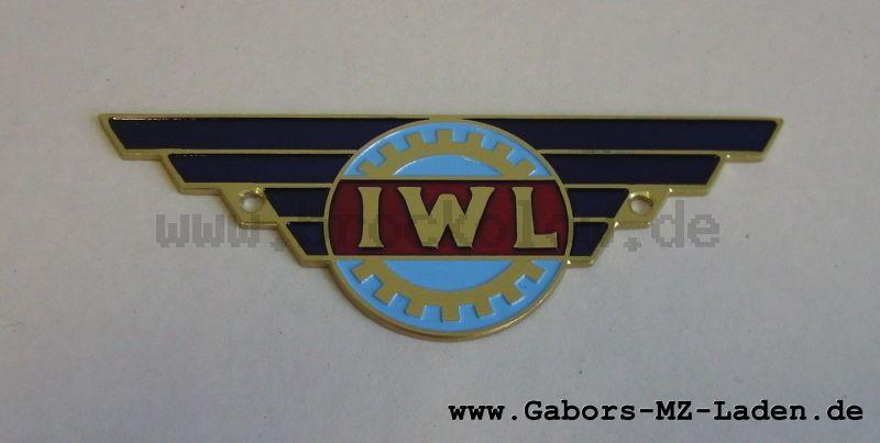 IWL Plakette, ungewölbt