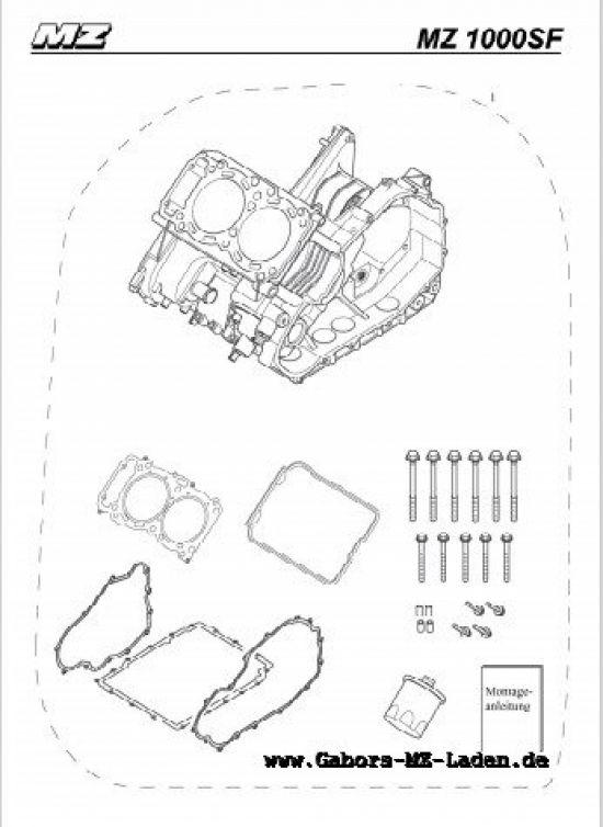 M16. Ersatzgehäuse Motor