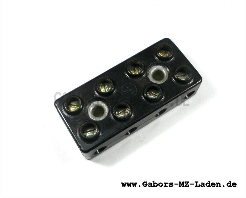 Leitungsverbinder B4 DIN 72586 Bakelit zum Schrauben