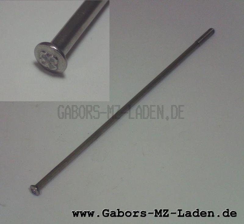WWS Speiche M4-148 mm, Edelstahl