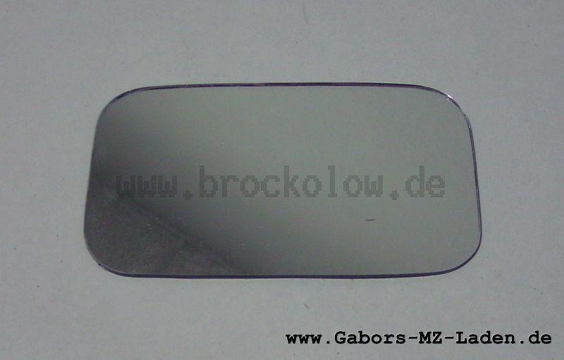 Spiegelglas eckig Oldtimer 119x69mm