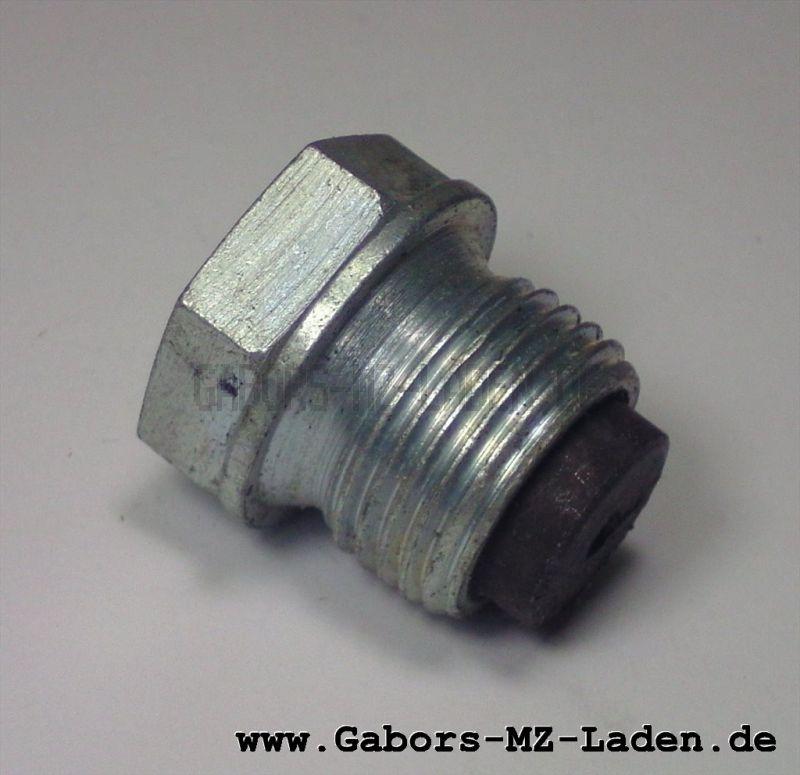 Ölablaßschraube m. Magnet - M18x1,5 - SW 18 -