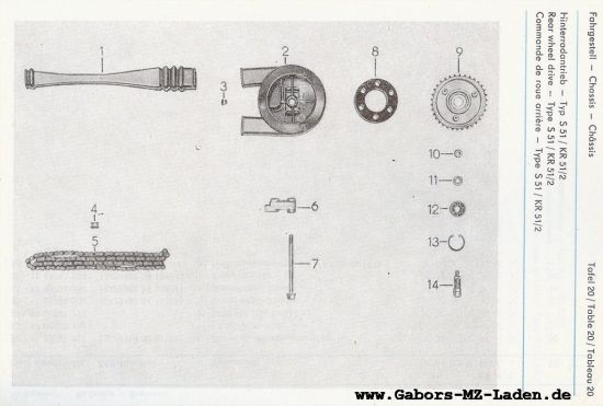 Fahrgestell - Hinterradantrieb (20)