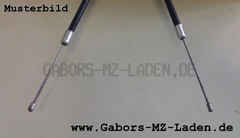 Bowdenzug/Seilzug -schwarz- Gas hoch, Bing 53 ETS/TS 125/150