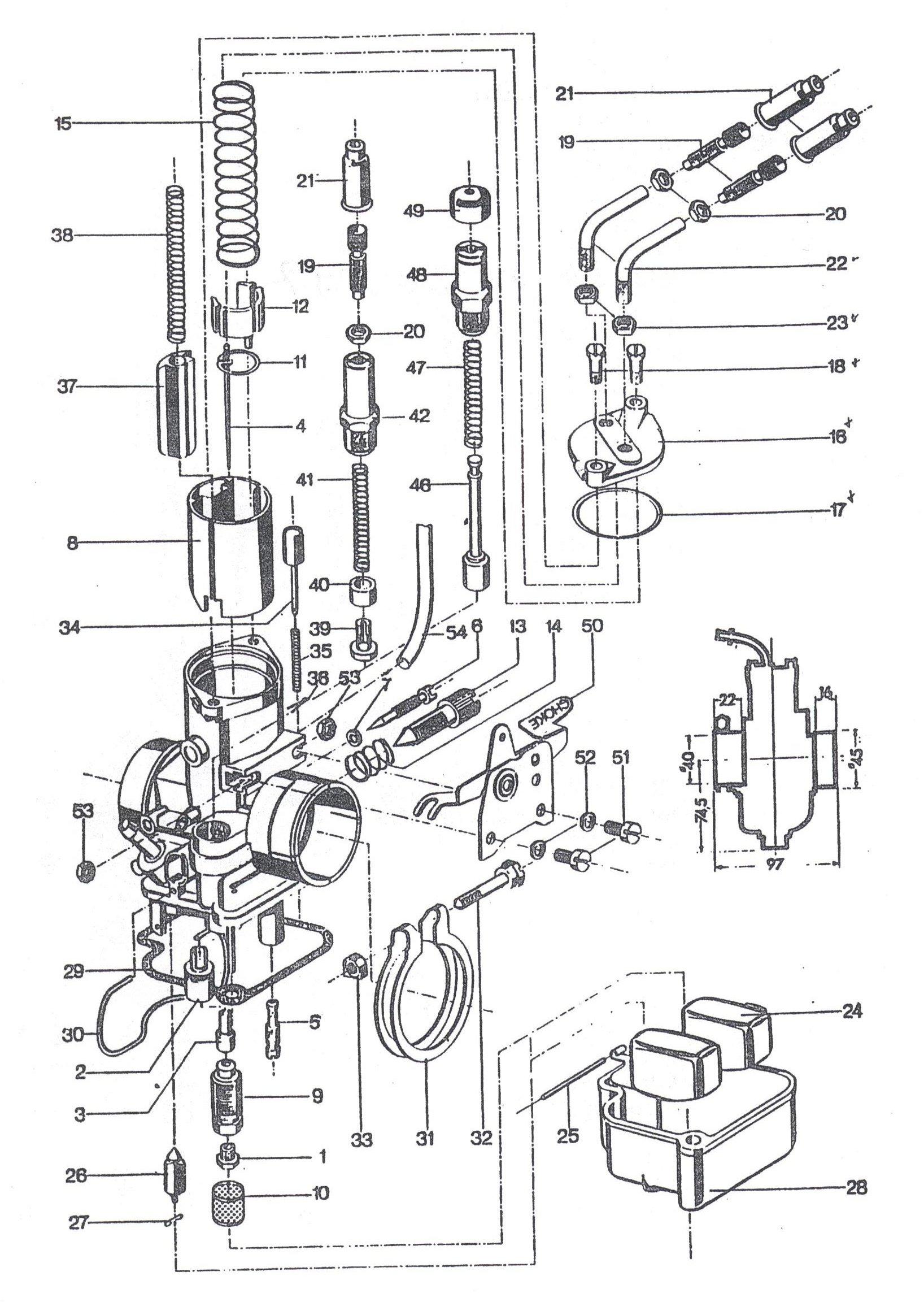 Carburetor   Gabors MZ Laden
