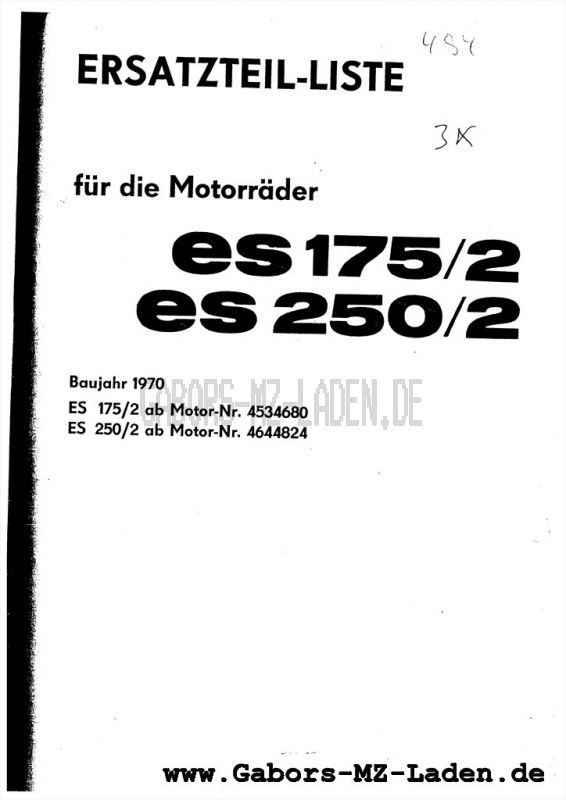 MZ ES 175/2, 250/2