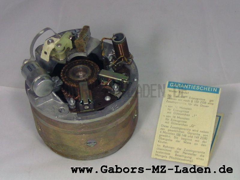 Lichtmaschine mit Anker 6V Kpl.