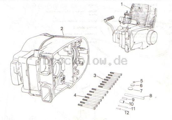 4.01. Ersatzmotor, Ersatzgehäuse