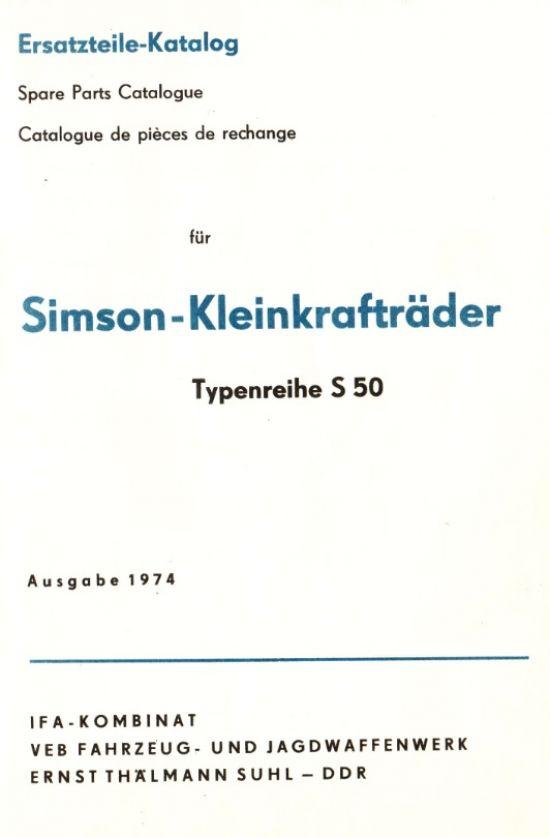 S50 Katalog 1974