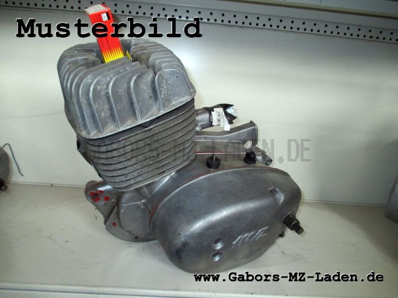 Motor MM 125/3  für TS 125 regenerieren