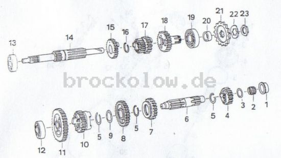 4.10. Getriebe