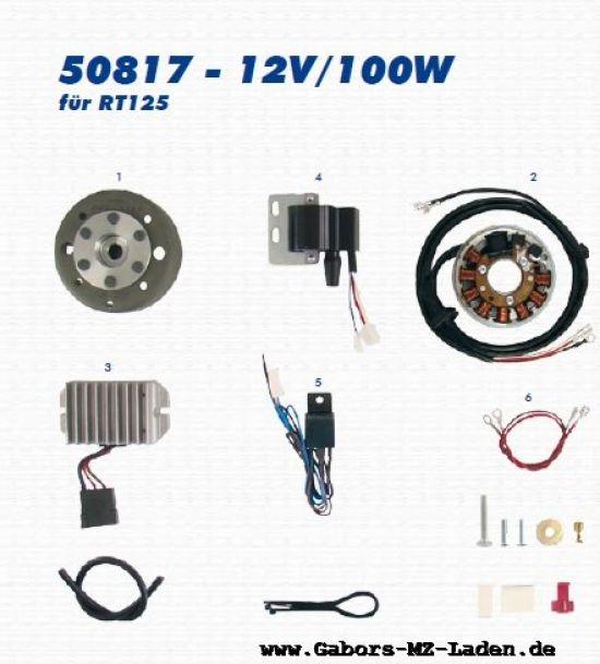 VAPE Lichtmagnetzündanlage 50817 12V/100W - RT 125