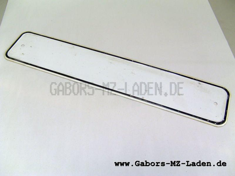 Kennzeichenschild 452x92, Blanko, A TGL15653