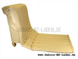 Sitz Beiwagen/Seitenwagen Superelastik beige