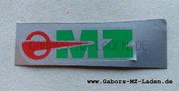 "Klebefolie ""MZ"" rot-grün"
