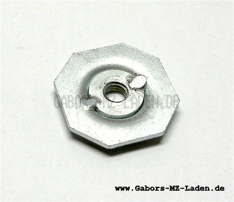 Druckscheibe zur Druckfeder vom Sattel, Simson SR2
