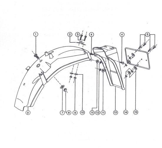 Hinterradkotflügel