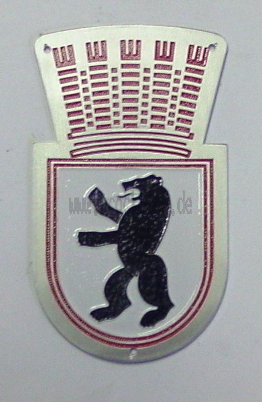 Plakette Wappentier Berlin