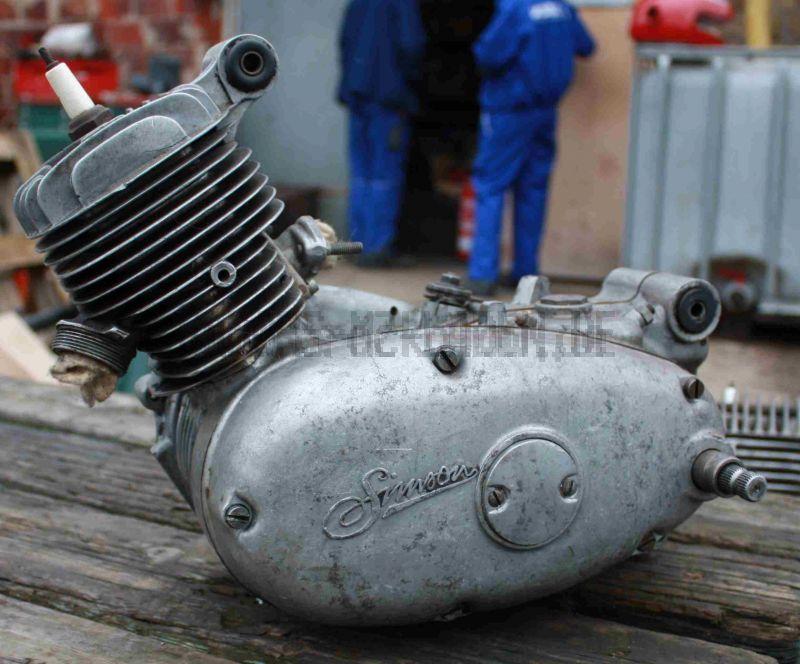 Motor M53/1 KF mit Dreiecksflansch regeneriert ohne Austausch für KR51/1, SR4-2