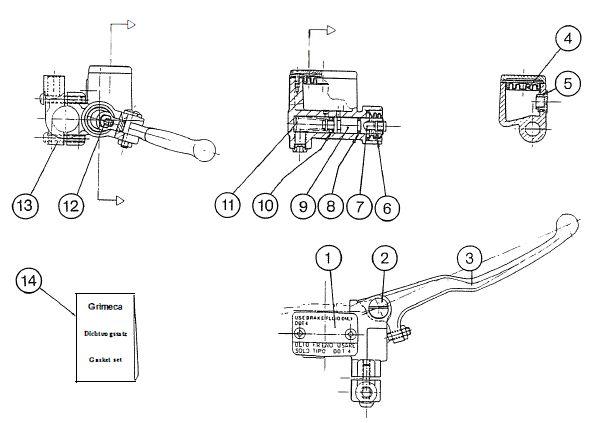 2.10.1 Fahrgestell Bremszylinder 2