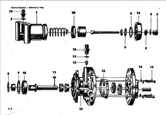 H09 Hydraulikpumpe