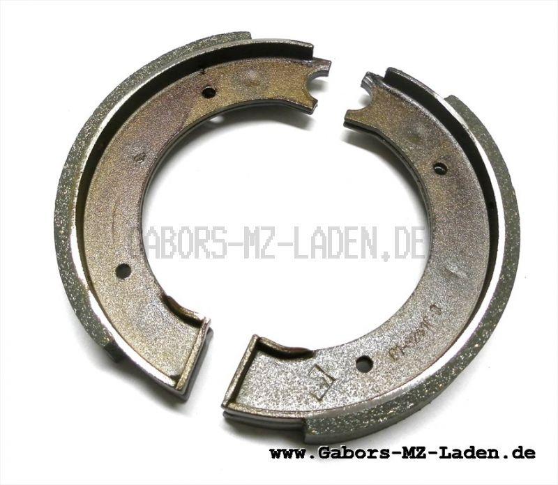 Satz Bremsbacken RT 125/1, 125/2 mit Belag regeneriert , Ausführung Stahl, im Austausch