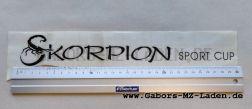 Klebefolie Skorpion Sport-Cup