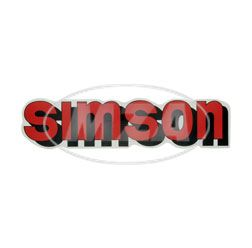 Klebefolie SIMSON Tank, rot