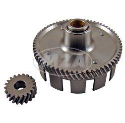 Kupplungszahnrad / Antriebsritzel SET 65/20 Zähne - Simson Motor M500