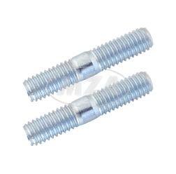 2x Stiftschrauben M6x18 - 5.8 - A4K (DIN 835)