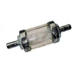 Benzinfilter O.M.G. - massive Metallausführung - 6mm Anschluss für Simson OMG