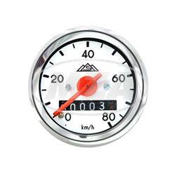 Tachometer mit Beleuchtung -ø 48mm - S50 - (neue Produktion - ORIGINAL MMB) (80 Km/h-Skala)