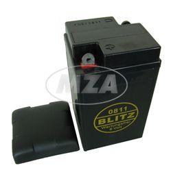 """Batterie 6V 12Ah AWO mit Deckel """"BLEI-GEL wartungsfrei, geschlossen"""""""