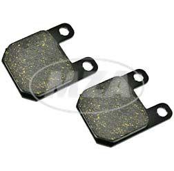 Paar Scheibenbremsklötze für Bremssattel 11047-D-S