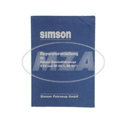 Reparaturanleitung für SIMSON-Zweiradfahrzeuge S53, SR50/1, SR80/1 Ausgabe 1989 (Schaltpläne integriert)