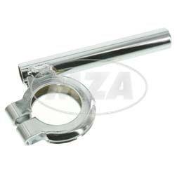 Blinkleuchtenhalter, vorderer - verchromt - Ø15mm