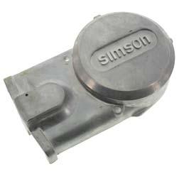 Lichtmaschinendeckel - Alu-natur - Simson Logo - Originalqualität