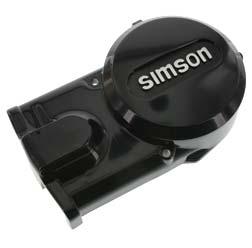 Lichtmaschinendeckel - schwarz - Simson Logo hell - SIMSON  ORIGINALQUALITÄT