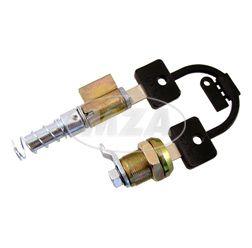 Schlosssatz BAB - SR50, SR80 - ein Schließsystem mit 2 Schlüsseln - Lenkersperrschloß und Feder + Seitendeckelschloß