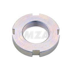 Nutmutter AM24x1,5 (Gabelführung) (DIN1804) verzinkt S51,SR50