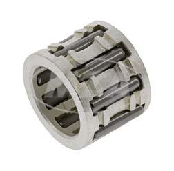 Hochleistungs-Nadelkranz S110 für Ø12mm Kolbenbolzen, Ø12x17x13 mm, 9 Nadeln, Lagerkäfig versilbert