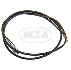 Bremslichtschalterkabelbaum f. Schalter MZA-Nr. 10031- Gesamtlänge 1100mm - S50-, S51-, S53-Typen mit Enduro- bzw OR- Lenker/ mit Anschluß Flachsteckhülse 2,8 +6,3mm