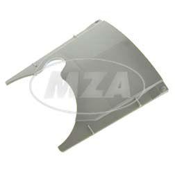 Lochabdeckung, weiß-grau, mit Ausschnitt, f. Werkzeugkasten - z.B. für S51, S53, S83