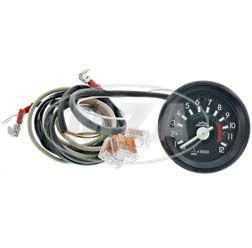 Elektronischer, induktiver Drehzahlmesser bis 12000 U/min - ø 60 mm - für 12V-Bordelektrik