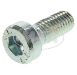 Zylinderschraube M5x12-4.8-A4K (DIN 6912) - Flacher Kopf, Innensechskant mit Schlüsselführung