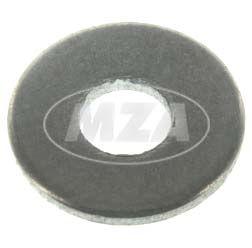 Scheibe A3,2-ST-A4R (DIN 134) - schwarz - 3,2 x 8 - 0,5