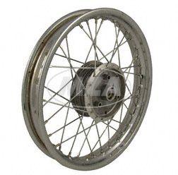 Speichenrad, 1,85x16 Zoll - Stahl verchromt - S53, S83, TS/SC, hinten - Breite Felge